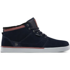 Etnies Jefferson Mid Hommes Chaussures Chaussure - Navy Grey Toutes Tailles