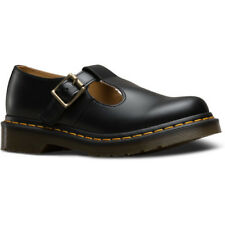 Dr Martens Polley Smooth Femmes Chaussures Chaussure - Black Toutes Tailles