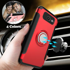 Hybrid Ring Holder Stand Armor Case Cover for Samsung Galaxy J3 Prime