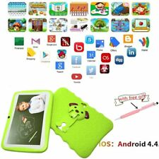 "7"" Tablet PC  Android 4.4 Wifi 4G  A33 Quad Core  Dual Cam for Education Kids QD"