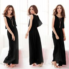 Women's Long Dress Evening Formal Cocktail Party Ball Gown Bridesmaid Dress ZD