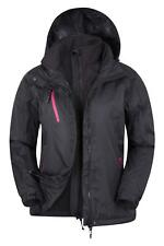 Mountain Warehouse Chaqueta Mujer impermeable 3 en 1 Forro Desmontable Bracken