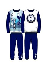 Childrens Kids Boys Girls Tottenham Hotspur Football Club 2 Piece PJ Pyjama Set