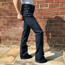 New Womens Ladies Mid Rise Dark Blue Stretch Denim Flares Bootcut Flared Jeans