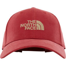 North Face 66 Classic Hommes Couvre-chefs Casquette - Bossa Nova Red Kelp Tan