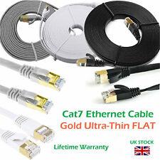 Plano RJ45 CAT7 Ethernet Dorado ULTRAFINA 10gbps SSTP red lan cable lote