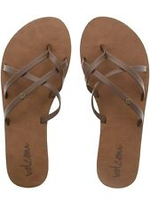Chanclas mujer Volcom New School Marron