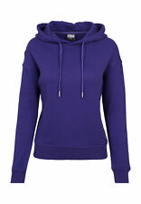 Urban Classics Ladies Felpa con cappuccio tb1524 Regal viola