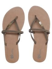 Chanclas mujer Volcom All Night Long Marron