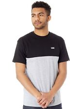 Camiseta Vans Colourblock Negro-gris Heather