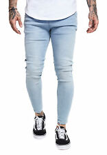 siksilk Vaqueros Hombre SKINNY DENIM ss-13003 azul claro light denim