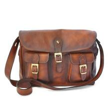 Pratesi borsa uomo donna in pelle postino italian leather women bag messenger