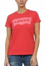 Levis Damen T-Shirt THE PERFECT GRAPHIC TEE 17369-0311 Rot