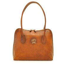 Pratesi borsa donna in pelle con manici, womens leather handbag purse, messenger