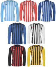 UMBRO MAILLOT FOOT Tee-shirt TSHIRT T MANCHES LONGUES HOMME FOOTBALL JERSEY 9089