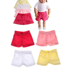 Doll Short Pant pour 18inch American Girl Baby Born Zapf Doll Clothes