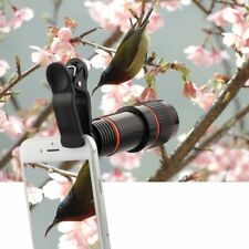 Clip-on HD 8X 12X Zoom Telephoto Telescope Cell Phone Camera Lens For