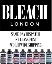 Bleach London Rose Silver Smoky Sulph Obsessed Shampoo and Conditioner
