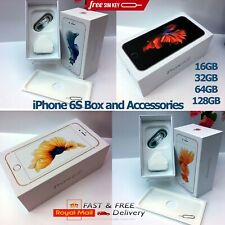 Apple iPhone 6s box only and Full Accessories ALL MEMORY SIZES
