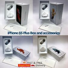 Apple iPhone 6s Plus box only and Full Accessories