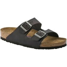 Birkenstock Arizona Soft Footbed Oiled Leather Narrow Femmes Chaussures Tongs -