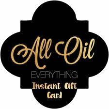 Gift Card for All Oil Everything | Instant Gift Card | Email Gift Certificate |