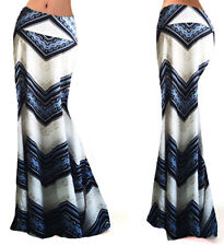 Gonna Lunga Donna Estiva Maxi - Woman Maxi Printed Skirt 130050 P