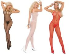 Seamless Fishnet Open Crotch Bodystocking, Crutchless, Sexy Lingerie, Bodysuit