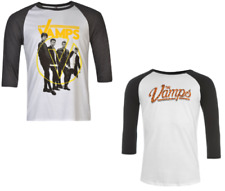 Official The Vamps MAGLIETTA T-SHIRT T-SHIRT MANICA LUNGA UOMO Top Raglan 6761