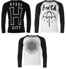 Official Bring Me THE HORIZON maglietta t-shirt manica lunga uomo TOP 8374