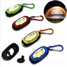PORTABLE MINICOB LED FLASHLIGHT CAMMPING KEYCHAIN TORCH LIGHT LAMP