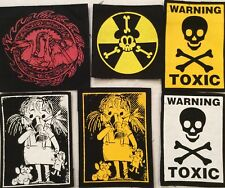 TOXIC EMBRION ANTI WAR patches  punk rock n roll rockers metal