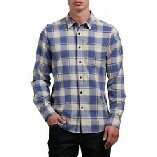 Volcom Caden Hommes Chemise - Clay Toutes Tailles