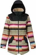 BURTON PROWESS JACKET MIJA STRIPE TRUE BLACK