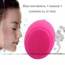 Electric Face Brush Women SiPPcone Facial Cleansing Massager Brush Cleanser PP