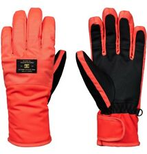 DC WOMENS FRANCHISE GLOVE FIERY CORAL