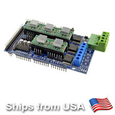 RAMPS 1.5 Controller Board + 5 x A4988 Drivers for 3D Printer Prusa i3 or Kossel