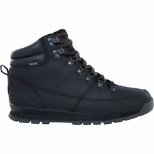 North Face Back To Berkeley Redux Leather Hommes Bottes - Tnf Black