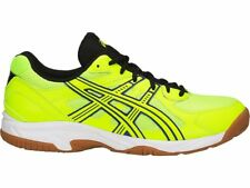Asics Courtrushing Yellow White Volleyball Badminton Shoes TOB517-0745