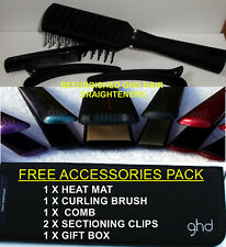 GHD Hair Straighteners Refurbished black,gold,pink,white,wide *FREE ACCESSORIES*