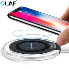 Fast Qi Wireless Charger Charging Dock Pad For Samsung, Galaxy Apple iPhone X ,