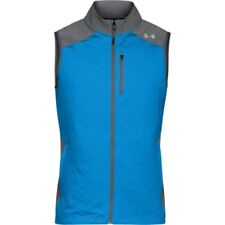 Under Armour Coldgear Reactor Mens Jacket Gilet - Mako Blue All Sizes