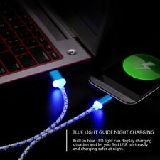 LED Light Micro USB Fast Charging Data Charger Cable Sync Cable Charging Cord