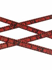 Infection Zone Walking Dead Halloween Prop Party Decoration 6 Metre Fright TAPE