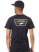 Camiseta Vans Full Patch Back Negro-Ambrosia