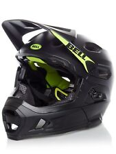 Casco Convertible MTB Bell 2018 Super DH MIPS Matt-Gloss Negro