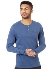 Camiseta Henley de manga larga Oneill Jacks Base Carbon Azul