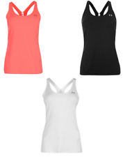 Under Armour Mujer Sin Mangas Camiseta Chaleco Tirantes Fitness 1818
