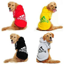 Adidog Hoodie Pattern Winter Warm Fleece Coat Jacket For Dog