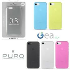 PURO Funda Ultra delgado 0.3 mm para iPhone 7 8 Cubierta Mate flexible delgado